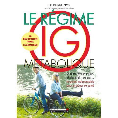 Dr Pierre Nys - Le régime IG métabolique - Preis vom 15.05.2021 04:43:31 h