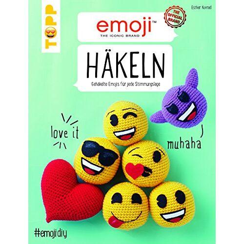 Esther Konrad - Emoji Häkeln: Gehäkelte Emojis für jede Stimmungslage - Preis vom 23.02.2021 06:05:19 h
