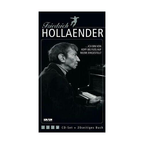 Friedrich Hollaender - ... Ich bin von Kopf bis Fuss auf Musik eingestellt, 4 Audio-CDs - Preis vom 25.05.2020 05:02:06 h