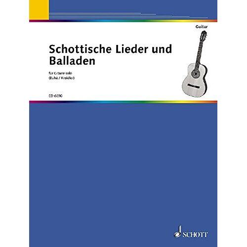 Klaus Buhé - Schottische Lieder + Balladen für Gitarre solo - Preis vom 18.10.2020 04:52:00 h