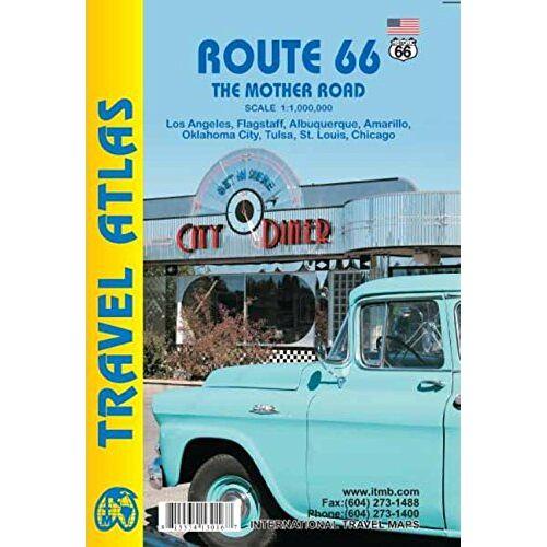 Collectif - Route 66 Travel Atlas 1 : 1 840 000 - Preis vom 06.09.2020 04:54:28 h