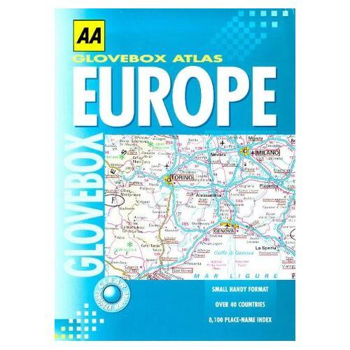 - Glovebox Atlas of Europe (AA Glovebox Atlas) - Preis vom 26.02.2021 06:01:53 h