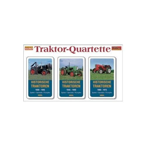 - Traktor-Quartette: 3er-Set - Historische Traktoren - Preis vom 20.10.2020 04:55:35 h