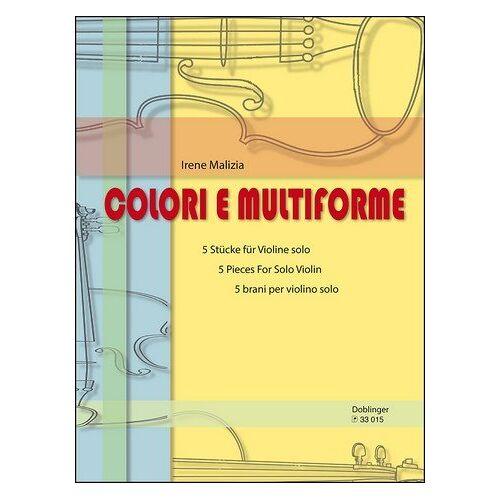 Irene Malizia - Colori e multiforme : für Violine - Preis vom 17.04.2021 04:51:59 h