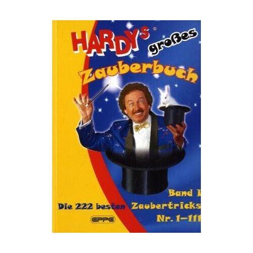 Zauberer Hardy - Hardys großes Zauberbuch, Band 1: Die 222 besten Zaubertricks Nr. 1-111 - Preis vom 14.04.2021 04:53:30 h
