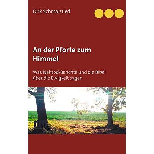 Dirk Schmalzried - An der Pforte zum Himmel: Was Nahtod-Berichte und die Bibel über die Ewigkeit sagen - Preis vom 26.02.2021 06:01:53 h