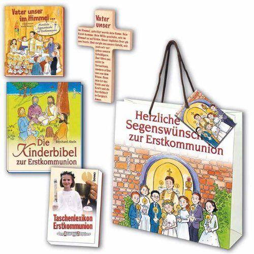 - Geschenkset zur Erstkommunion: Vater unser im Himmel Vaterunser-Kreuz Die Kinderbibel zur Erstkommunion Taschenkexikon Erstkommunion - Preis vom 19.10.2020 04:51:53 h