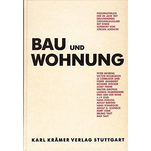 Deutscher Werkbund - Bau und Wohnung - Preis vom 16.01.2021 06:04:45 h