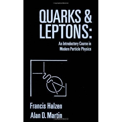 Francis Halzen - Quarks And Leptons C - Preis vom 13.05.2021 04:51:36 h