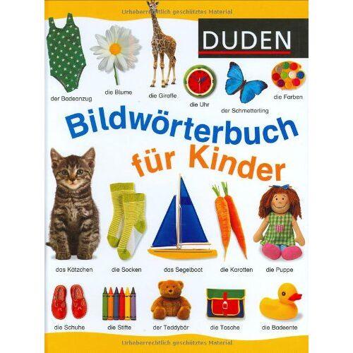 - Duden. Bildwörterbuch für Kinder: Für Kindergarten und Vorschule. 3-6 J - Preis vom 07.04.2020 04:55:49 h