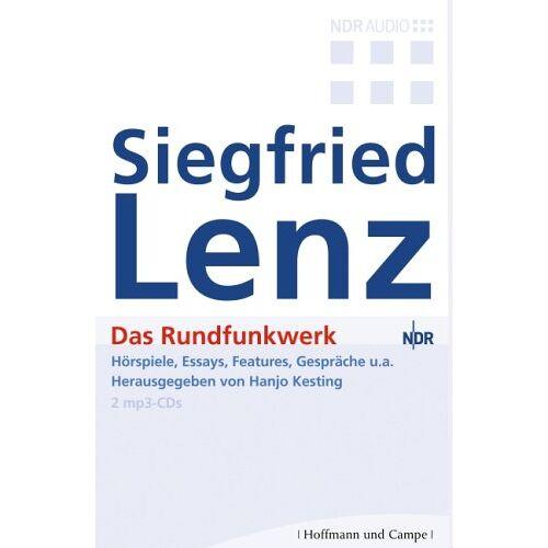 Siegfried Lenz - Das Rundfunkwerk. 2 MP3-CDs - Preis vom 06.09.2020 04:54:28 h