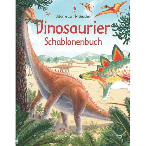 Alice Pearcey - Dinosaurier Schablonenbuch - Preis vom 12.05.2021 04:50:50 h