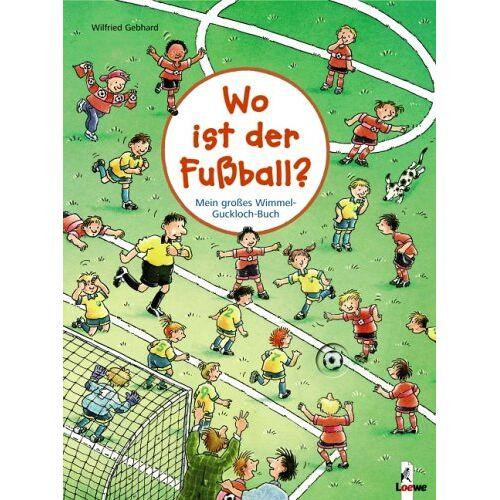 - Wimmel-Guckloch-Buch. Wo ist der Fußball? - Preis vom 03.05.2021 04:57:00 h