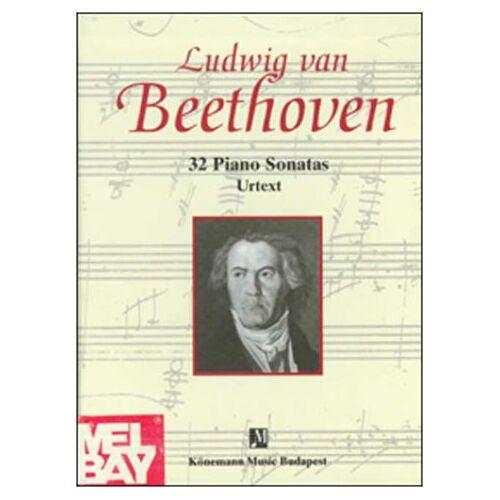 Beethoven, Ludwig Van - 32 Piano Sonatas, 2 Bde. (Partitions Cps) - Preis vom 25.02.2021 06:08:03 h