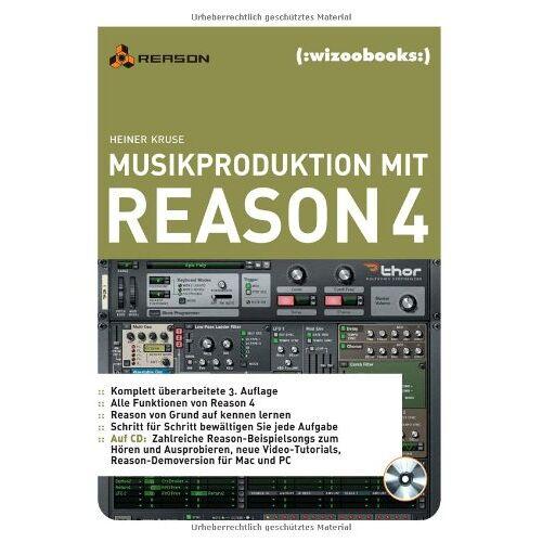 Heiner Kruse - Musikproduktion mit Reason 4 - Preis vom 20.10.2020 04:55:35 h