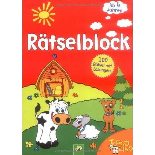 - Toggolino Rätselblock rot: 100 Rätsel mit Lösungen - Preis vom 07.05.2021 04:52:30 h
