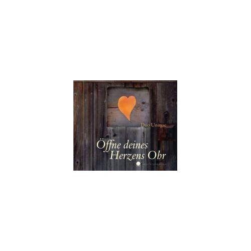 Duo Unique - Öffne deines Herzens Ohr: Meditationsmusik. Gitarre und Flöte - Preis vom 10.04.2021 04:53:14 h