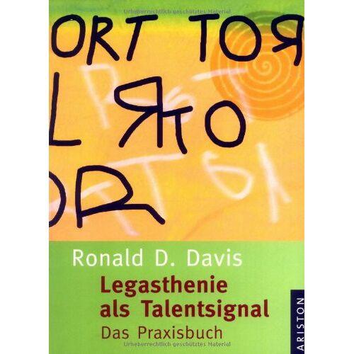 Davis, Ronald D. - Legasthenie als Talentsignal: Das Praxisbuch - Preis vom 11.05.2021 04:49:30 h
