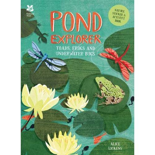 Alice Lickens - Alice Lickens Pond Sticker Book (Sticker Activity) - Preis vom 28.02.2021 06:03:40 h