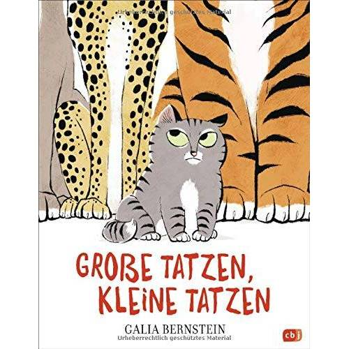 Galia Bernstein - Große Tatzen, kleine Tatzen - Preis vom 09.04.2021 04:50:04 h