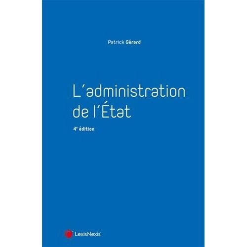 - L'administration de l'Etat (Manuel) - Preis vom 22.04.2021 04:50:21 h