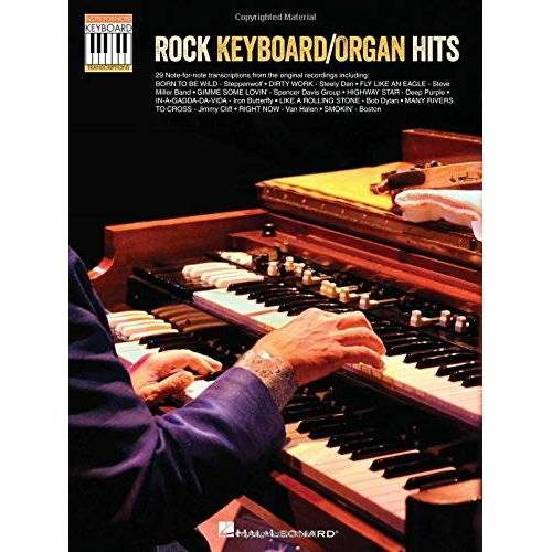 - Rock Keyboard/Organ Hits: Note-For-Note Keyboard Transcriptions - Preis vom 28.02.2021 06:03:40 h