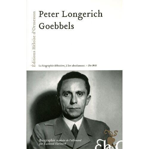 Peter Longerich - Goebbels - Preis vom 05.09.2020 04:49:05 h