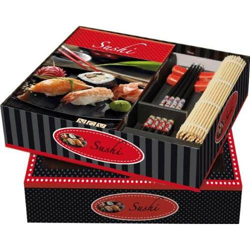 - Buch-Box Sushi: Buch + Ess-Stäbchen, Stäbchen-Halter & Sushimatte - Preis vom 09.08.2020 04:47:12 h