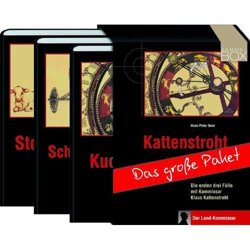Hans-Peter Boer - Das Kattenstroht-Paket. 3 Bände: Stoppelland / Schwengelrecht / Kuchentage. Drei spannende Fälle mit Kommissar Klaus Kattenstroht - Preis vom 05.03.2021 05:56:49 h