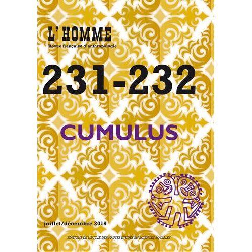 - L'Homme, n° 231-232 - Cumulus - Preis vom 13.05.2021 04:51:36 h