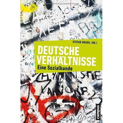 Stefan Hradil - Deutsche Verhältnisse: Eine Sozialkunde - Preis vom 19.10.2020 04:51:53 h