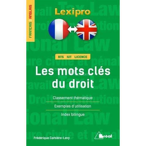 Frédérique Corbière-Lévy - Les mots clés du droit - Preis vom 18.10.2020 04:52:00 h