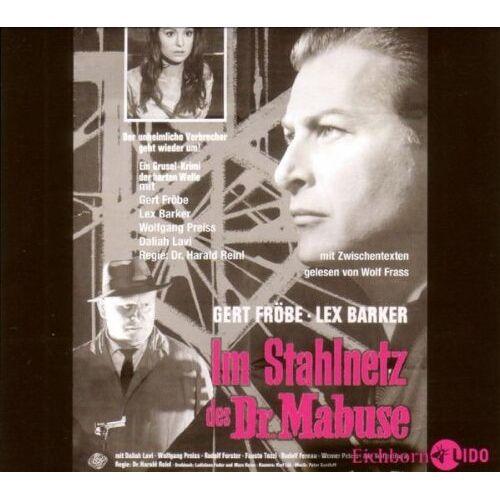 Gert Fröbe - Im Stahlnetz des Dr. Mabuse: Hörspiel. - Preis vom 21.04.2021 04:48:01 h