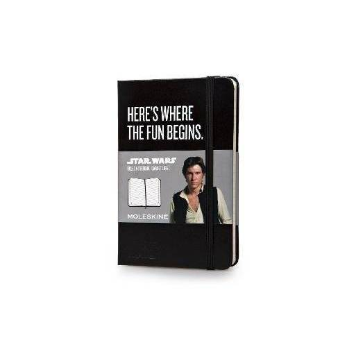 Moleskine - Moleskine Star Wars Pocket Ruled Notebook (Moleskine Limited Edition) - Preis vom 05.09.2020 04:49:05 h