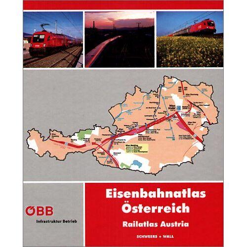 Eisenbahnatlas - Eisenbahnatlas Österreich: Railatlas Austria - Preis vom 12.04.2021 04:50:28 h
