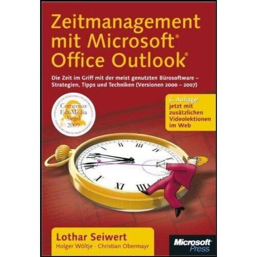 Lothar Seiwert - Zeitmanagement mit Microsoft Office Outlook: Die Zeit im Griff mit der meist genutzten Bürosoftware  Strategien, Tipps und Techniken (Version 2000-2007). Mit zusätzlichen Videolektionen im Web - Preis vom 15.06.2019 04:47:26 h