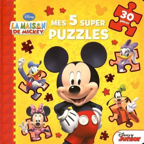 Disney - Mes 5 supers puzzles - Preis vom 03.05.2021 04:57:00 h