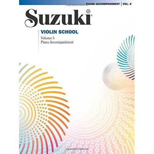 Shinichi Suzuki - Suzuki Violin School, Vol 5: Piano Acc. - Preis vom 18.04.2021 04:52:10 h