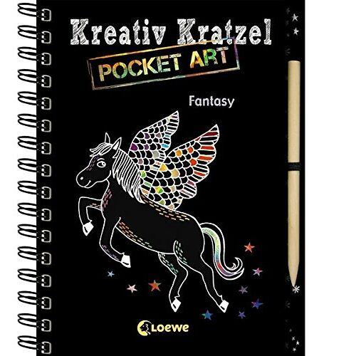 - Kreativ-Kratzel Pocket Art: Fantasy (Kreativ-Kratzelbuch) - Preis vom 25.10.2020 05:48:23 h