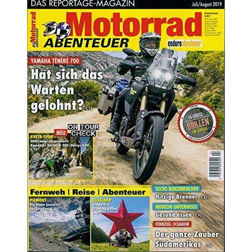 Motorrad Abenteuer - Motorrad Abenteuer 04/2019 Hat sich das Warten gelohnt? - Preis vom 05.09.2020 04:49:05 h