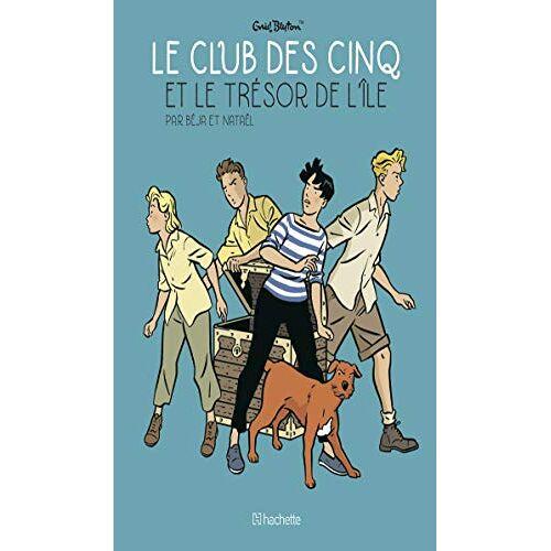 - Le Club des Cinq et le Trésor de l'île (ROB.HCO.COMICS) - Preis vom 21.01.2021 06:07:38 h