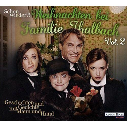 Charles Dickens - Schon wieder!? Weihnachten bei Familie Thalbach: Geschichten und Gedichte mit Mann und Hund - Preis vom 20.10.2020 04:55:35 h