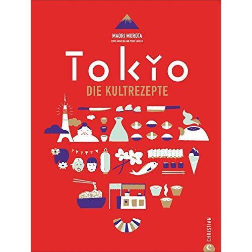 Maori Murota - Japanisch kochen wie in Tokio. Die Kultrezepte. Original japanische Küche mit Rezepten für Sushi, Miso, Bento und Co. Das Kochbuch für Japan und seine Hauptstadt Tokyo - Preis vom 03.05.2021 04:57:00 h