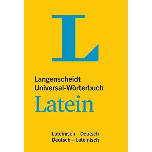 - Langenscheidt Universal-Wörterbuch Latein: Lateinisch-Deutsch / Deutsch-Lateinisch - Preis vom 28.02.2021 06:03:40 h