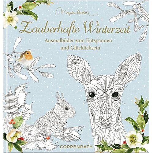 - Ausmalbuch - Zauberhafte Winterzeit - Marjolein Bastin: Ausmalbilder zum Entspannen und Glücklichsein - Preis vom 22.09.2019 05:53:46 h