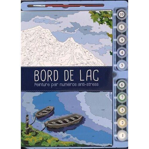 Montmorillon, Camille de - Coffret Bord de lac - Peinture par numéros anti-stress : Avec 1 pinceau et 10 godets de peinture - Preis vom 27.02.2021 06:04:24 h