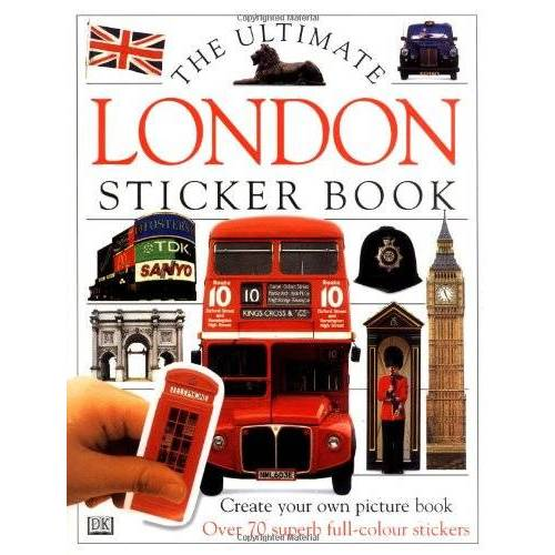 DK - The Ultimate London Sticker Book (Ultimate Stickers) - Preis vom 18.04.2021 04:52:10 h