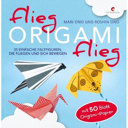 Mari Ono - Flieg, Origami, flieg: 35 einfache Faltfiguren, die fliegen und sich bewegen. Mit 50 Blatt Origami-Papier - Preis vom 21.10.2020 04:49:09 h