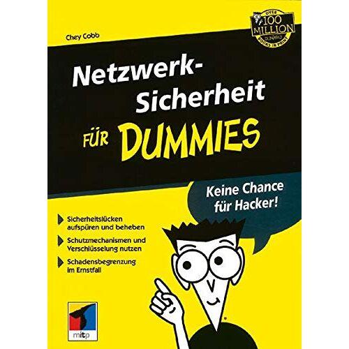 Chey Cobb - Netzwerksicherheit für Dummies - Preis vom 27.02.2021 06:04:24 h