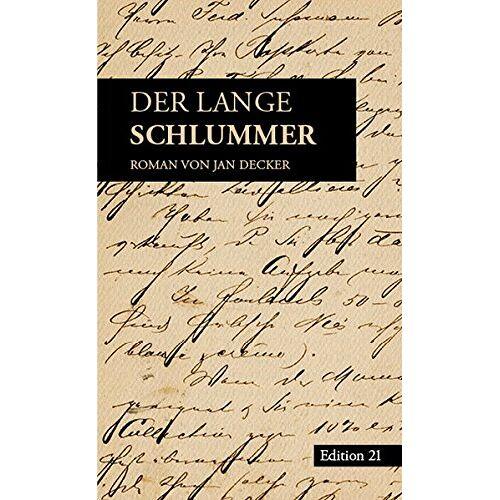 Jan Decker - Der lange Schlummer - Preis vom 09.05.2021 04:52:39 h